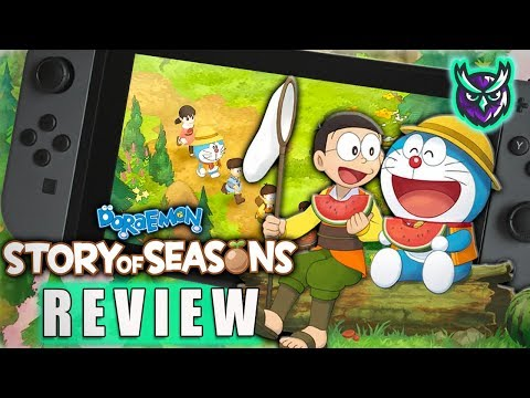 Doraemon Story of Seasons Switch Review (Your Life is Over)