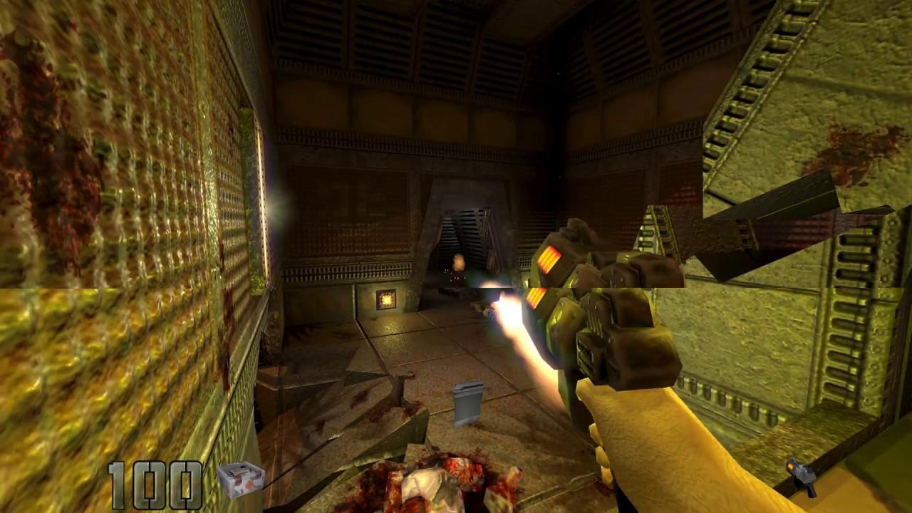 Quake 2 @ 2160p with Graphic Mods - Test [4k UHD]