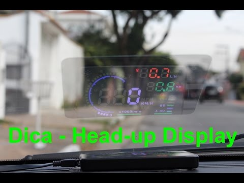 Dica - Head-Up Display universal!  - Falando de Carro