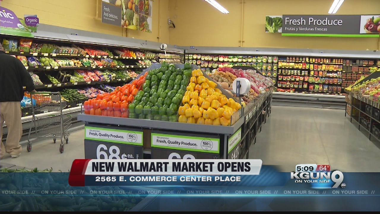 New Walmart Brings Jobs To Tucson