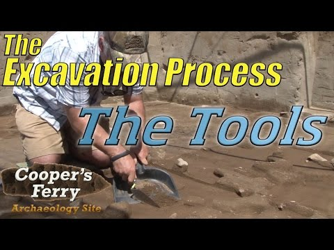 The Excavation Process: The Tools