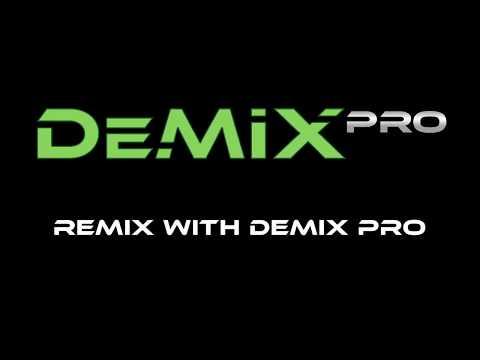Remix with DeMIX Pro V2 - Audio & Vocal Separation Software