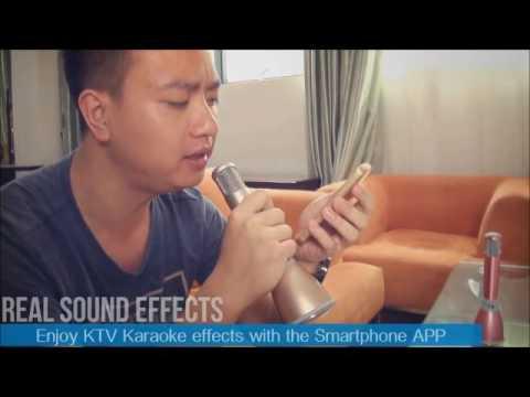 TUXUN K068 Karaoke KTV Portable Microphone + Speaker - Mobile Mic