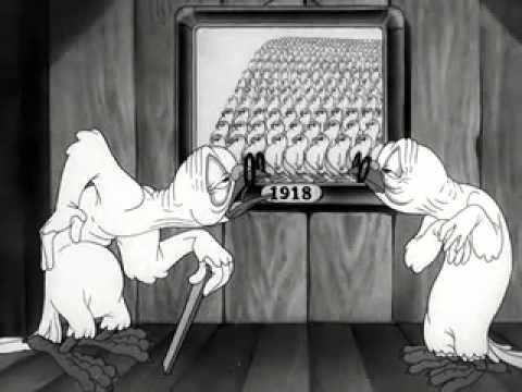 Suspiciously Patriotic Ending To A Looney Tune