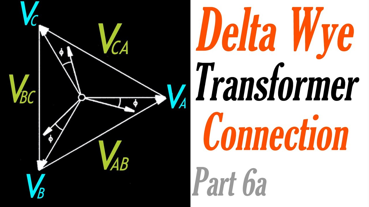Introduction to the delta wye transformer connection part 6a introduction to the delta wye transformer connection part 6a voltage phasor diagram ccuart