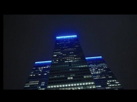 Illumination of Place Ville Marie