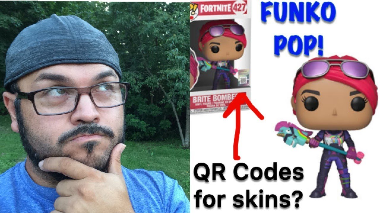 Fortnite Funko Pop Qr Codes Youtube