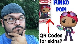 Fortnite FUNKO POP! QR Codes?