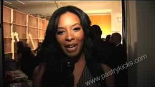 vanessa angela simmons at fashion week nyc