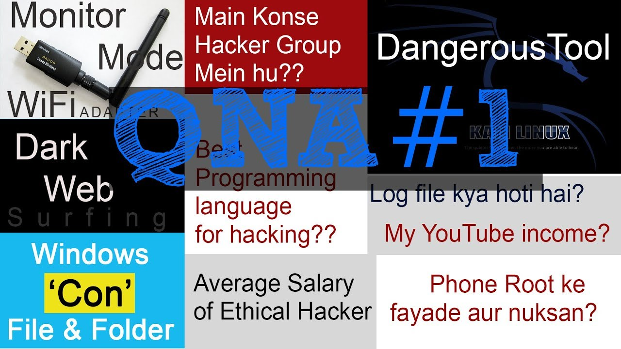 QNA #1 Kali Linux ka dangerous tool? | YouTube Income?