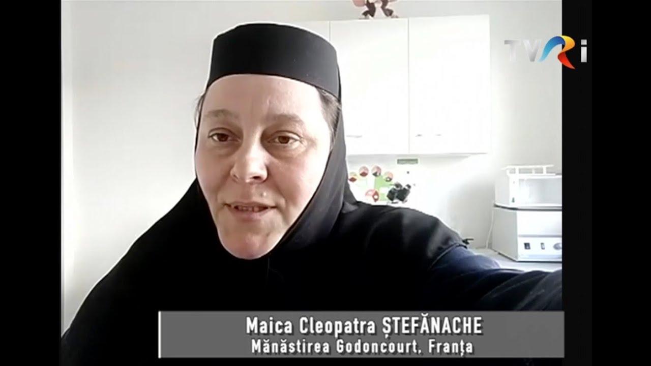 Interviu al Maicii Cleopatra la TVRi - Săptămâna Mare 2021