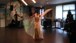 l ouverture spectacle de danse oriental repas de noel