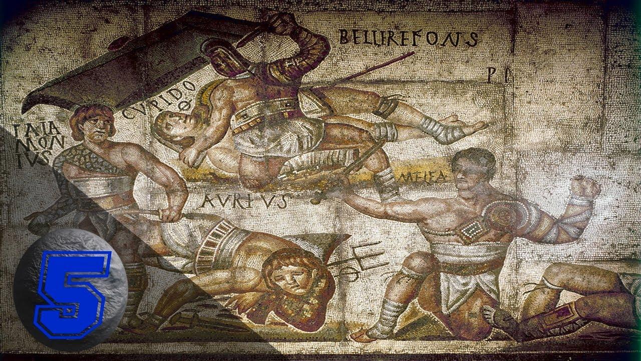 5 gladiatori più forti e famosi dell'antica roma