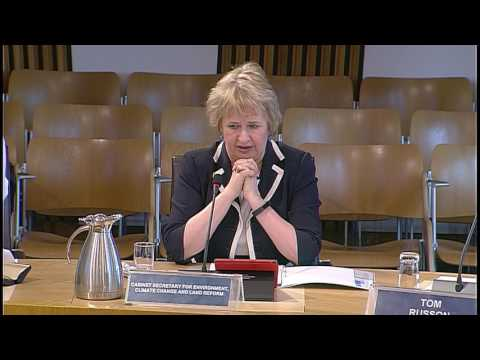 Environment, Climate Change and Land Reform Committee - Scottish Parliament: 21st March 2017