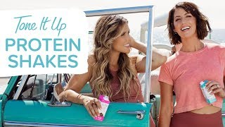 Delicious Tone It Up Protein Shakes ~ Perfect For Busy Girls On The Go!