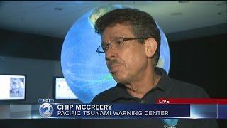 9pm: Updates from Pacific Tsunami Warning Center and Waikiki