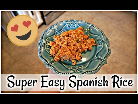 Super Easy Spanish Rice!