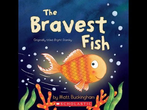 THE BRAVEST FISH Read Along Aloud Story Book for Children Ki