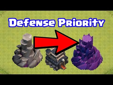 Which Defenses to Upgrade First at Town Hall 9 (2017) | Clash of Clans Upgrade Priority List TH9