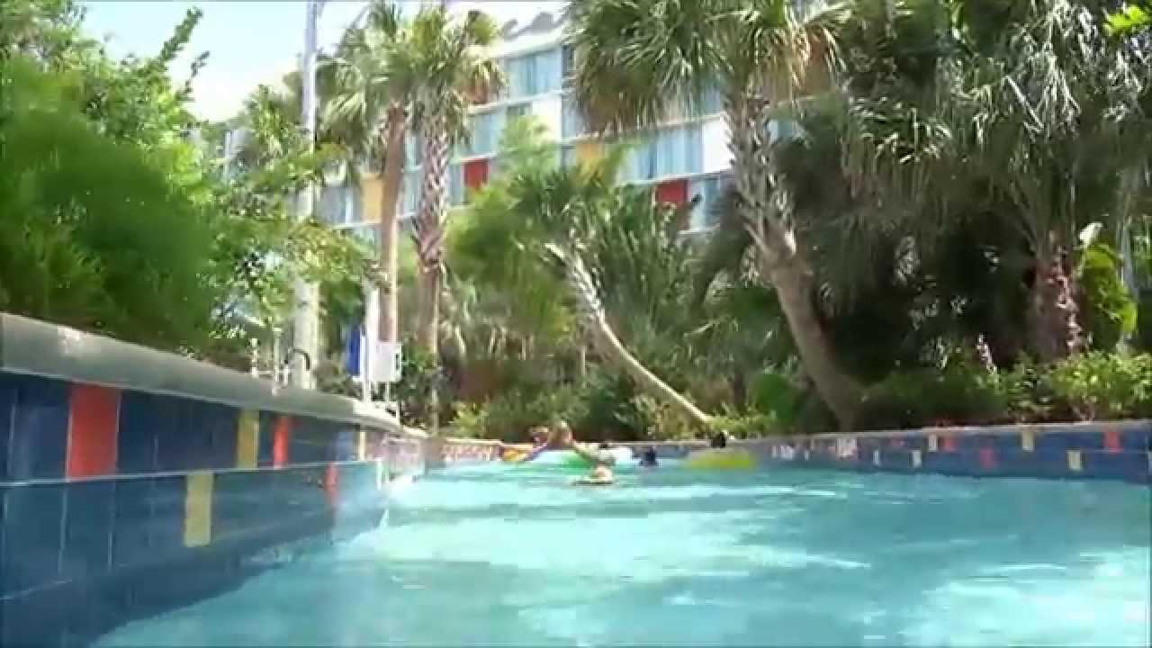 Cabana Bay Beach Resort New Lazy River Pov At Universal Orlando You