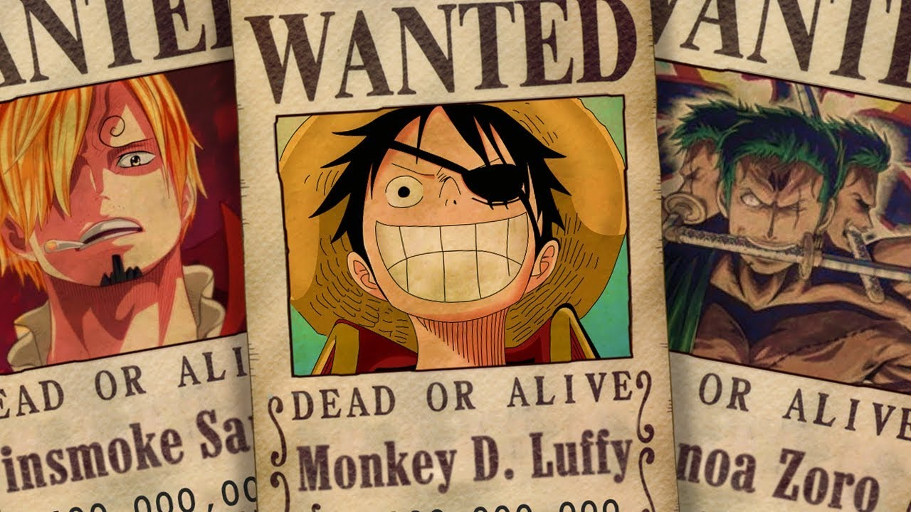 One Piece New Bounties