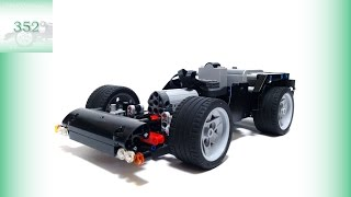 Simple and Compact RC Car [LEGO Technic LV-352]