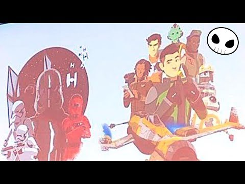 First look at STAR WARS: RESISTANCE characters
