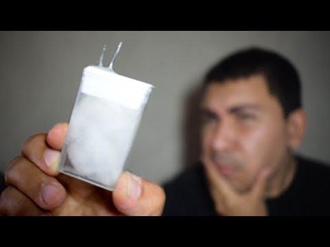 Bateria na caixa de Tic Tac! Funciona?