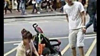 Street Peeing Toddler Causes Dispute in Hongkong