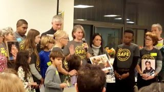 Families for Safe Streets testifying at CB 7 2016-02-02