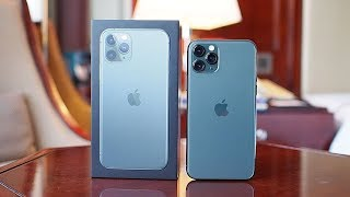 Unboxing IPHONE 11 PRO Midnight Green, Indonesia