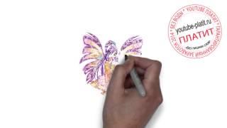 Мультики ВИНКС смотреть онлайн  Как нарисовать винкс гармоникс