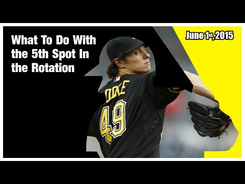 Pittsburgh Pirates: What To Do With the 5th Spot In the Rotation (6-01-15)