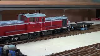 OJゲージ鉄道模型 レール クリーニングカー