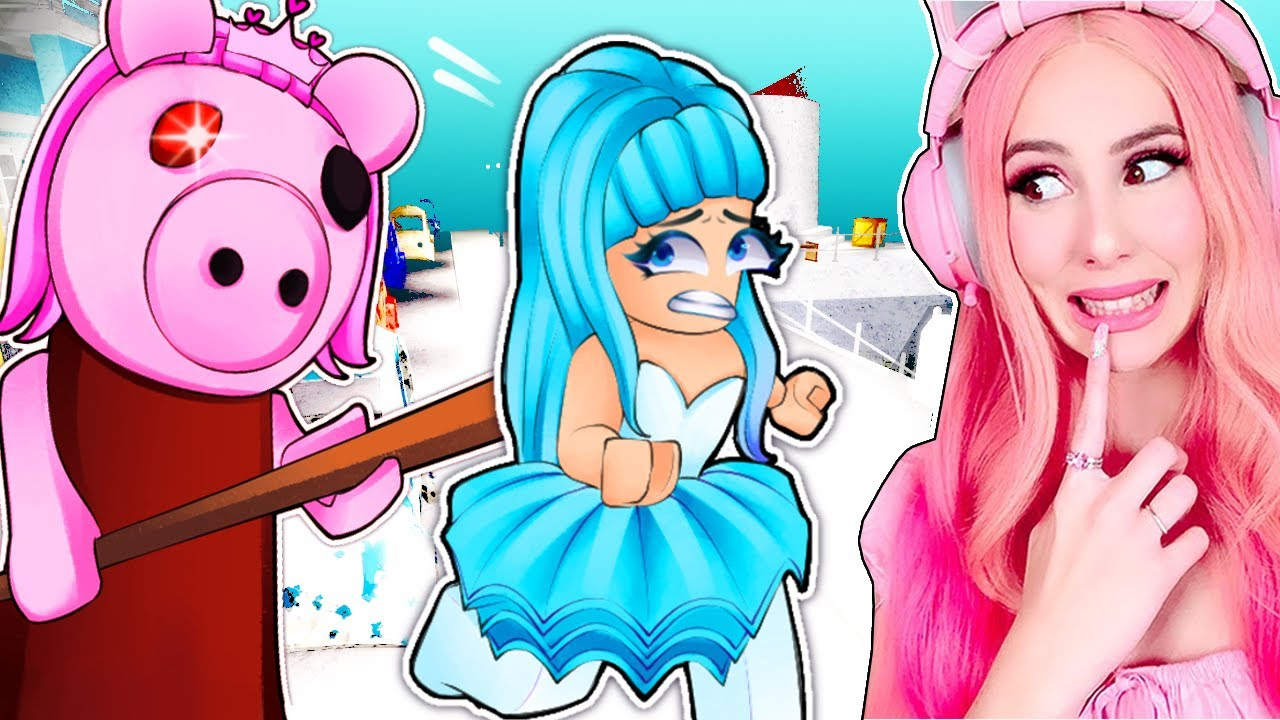 PLAYING AS PIGGY IN CHAPTER 9... WILL I LET MY SISTER LIVE? Roblox