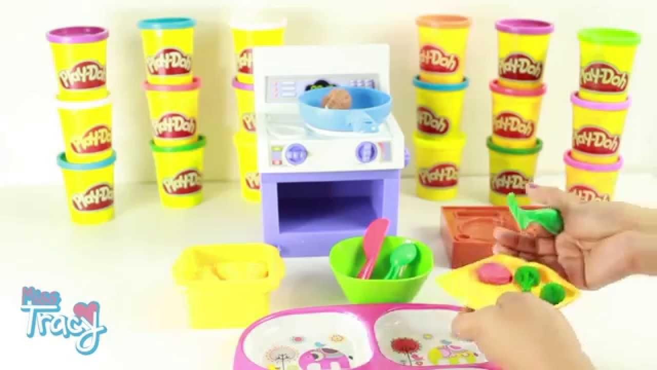 Cocina Play Doh   Cocina Play Doh Plastilina Youtube