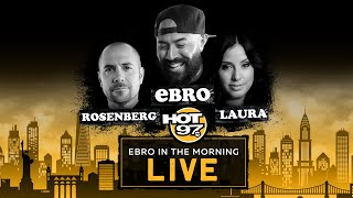 Should We Get Back To Work In The Midst Of The COVID-19 Crisis? | Ebro In The Morning Uncensored