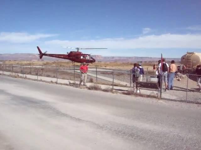 Helicópteros no Hualapai Airport