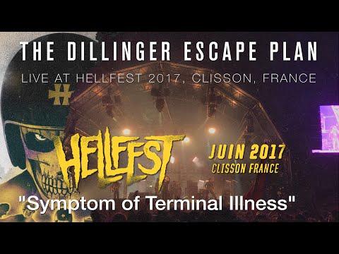 THE DILLINGER ESCAPE PLAN Symptom of Terminal Illness  @ Hellfest 2017