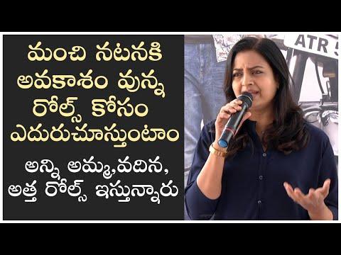 Actress Indraja Speech At Sumanth Ashwin New Movie Opening | Telugu News - TFPC