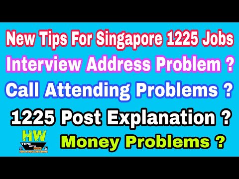 Problems Comments From Viewers, For Client Interview Of 1225 Singapore Job At Azamgarh