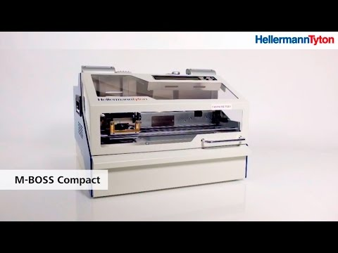 Stainless Steel Printing System M-BOSS Compact - metal plate embossing printer (FullHD)