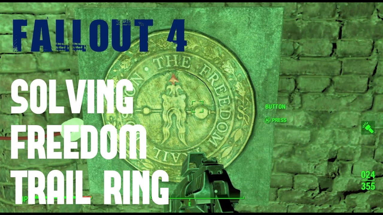 fallout solving freedom trail ring gameplay