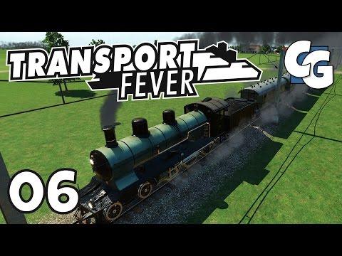 Transport Fever - Ep. 6 - First Intercity Train - Transport Fever Gameplay