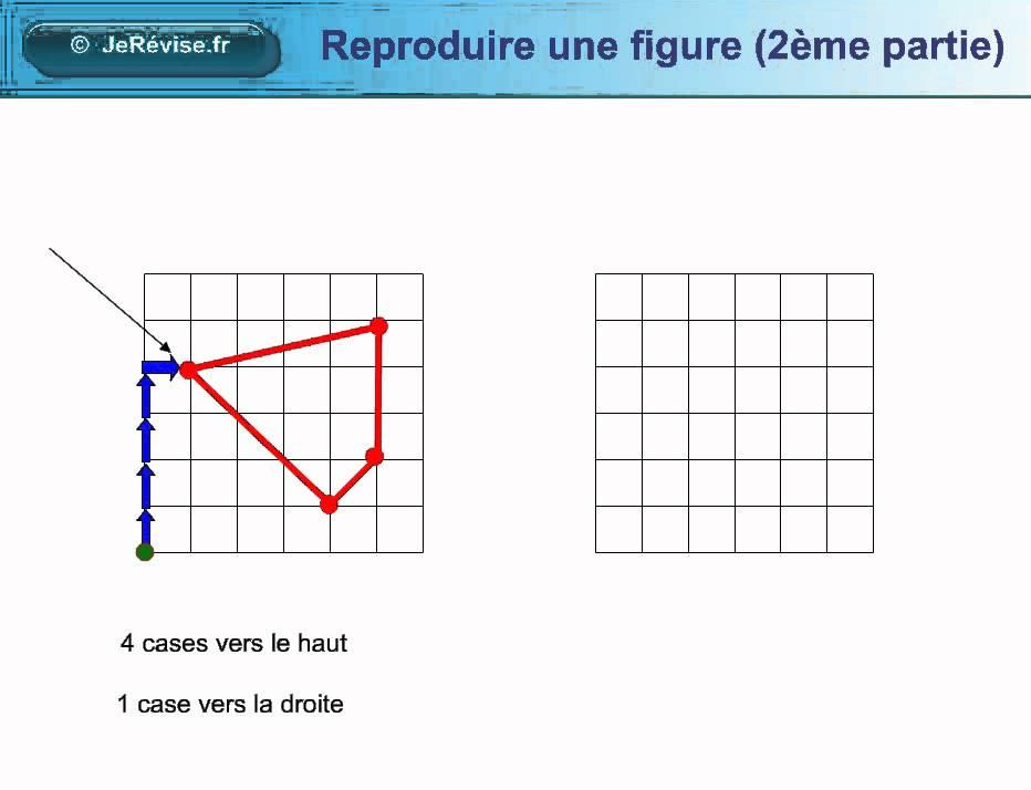 Reproduire Une Figure Sur Un Quadrillage Avec Des Noeuds Geometrie Pour Le Cp Ce1 Ce2 Cm1 Cm2 Youtube