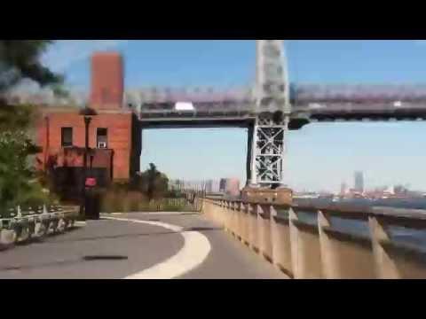 Handlebar Cam Cycling NYC Mid-Lower Manhattan First Test
