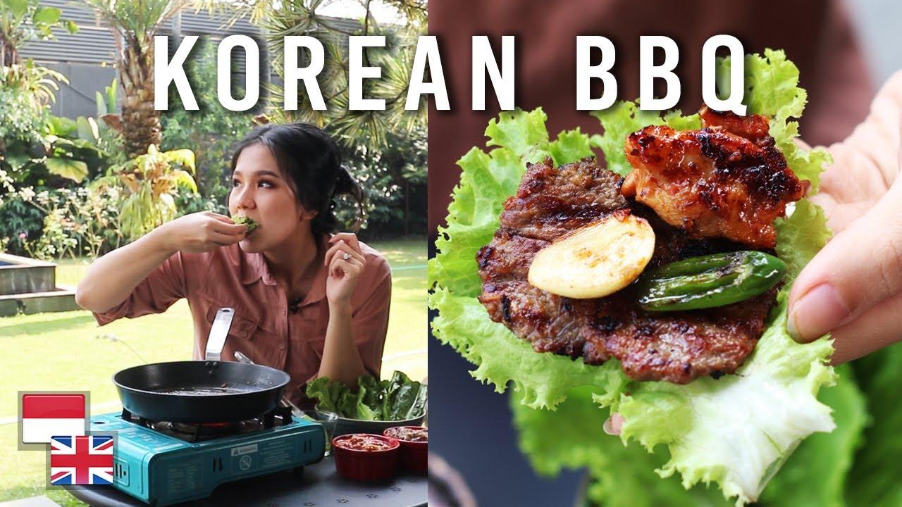 resep korean bbq di rumah - devina hermawan
