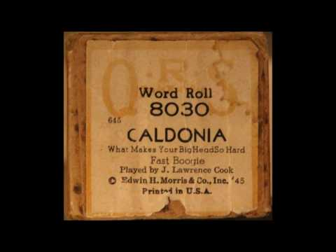 Caldonia - QRS piano roll by J Lawrence Cook