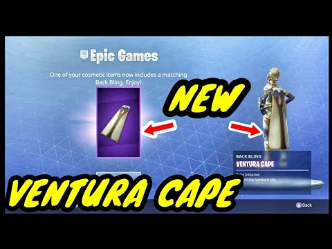 New ventura cape absolutely free if you own the skin - Ventura fortnite ...