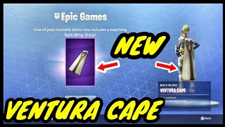 NEW Ventura Cape!! Absolutely Free If You Own The Skin!! Fortnite Battle Royale